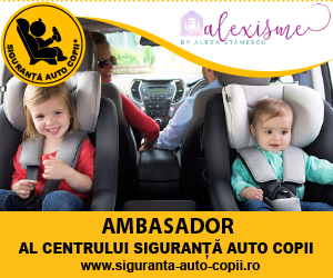 Cât costă viața copilului tău? SEMNEAZĂ PETITIA pentru majorarea cuantumul amenzilor pentru copiii transportați fără scaun auto sau centură
